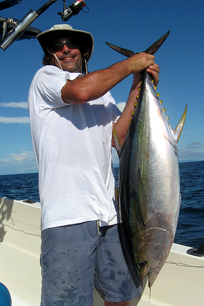costa rica tuna fishing